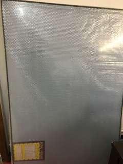 Black metal puzzle frame 1.45m x 1.02m