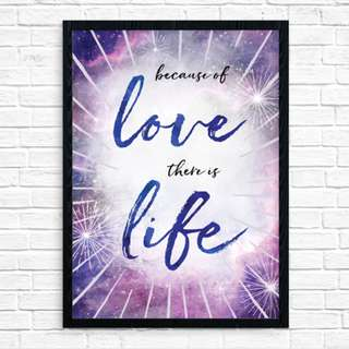 Original Art Print: Because Of Love