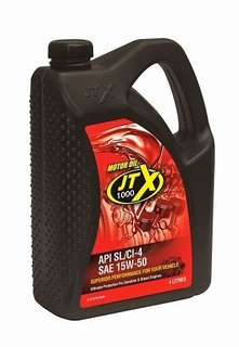JTX 1000 4 Litres Engine Oil