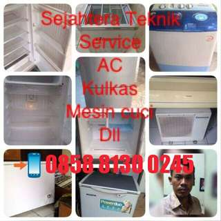 Service kulkas dan AC