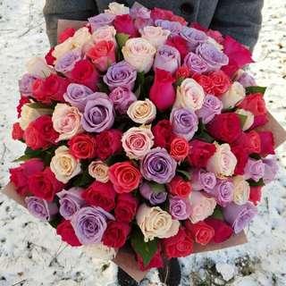 Flower Bouquet∕Hand Bouquet∕Birthday Bouquet∕Anniversary Bouquet∕Proposal Bouquet - 64FC