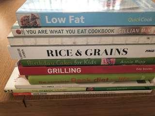 Cookbooks clearance