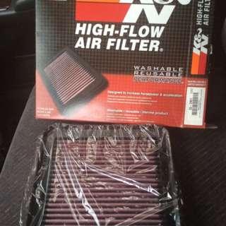 k&n filter for montero