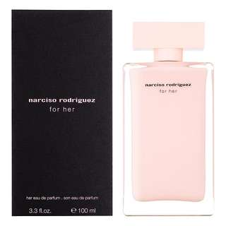 NARCISO RODRIGUEZ EDP FOR WOMEN (100ml/Tester/0.8ml Vial) Black Pink Her