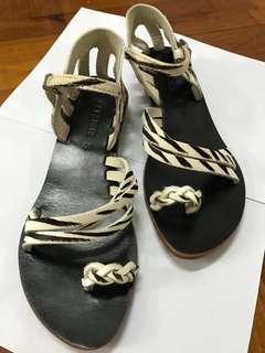 Zebra Stripes Sandals