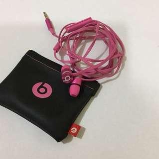 Beats耳機耳筒粉紅桃紅色