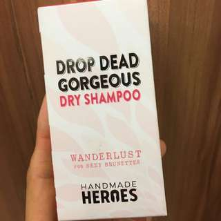 Dry Shampoo - 100% natural, vegan & cruelty free