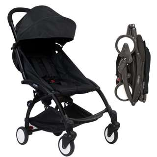 (FULL BALCK) FREE DELIVERY BABY YOYA CABIN STROLLER
