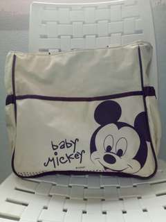 Used Disney diaper bag
