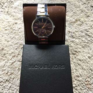 Michael Kors Jaryn Two-Tone Watch