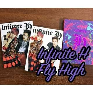 ON HAND UNSEALED ALBUM Infinite H - Fly High Album