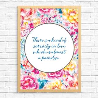 Original Art Print: Serenity In Love