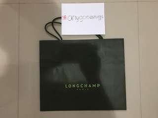 Paper Bag Long Champ Original