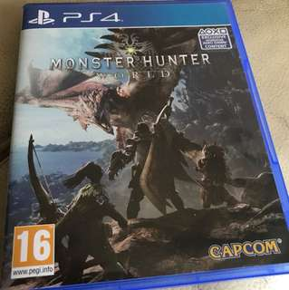 Monster Hunter World PS4 R2