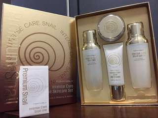Repriced!! Tony Moly Intense Care Snail Skincare Set