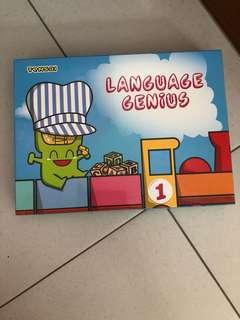 Tensai Language Genius 1 (50 Flash Cards)