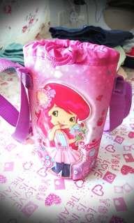 Strawberry Shortcake Bottle holder sling