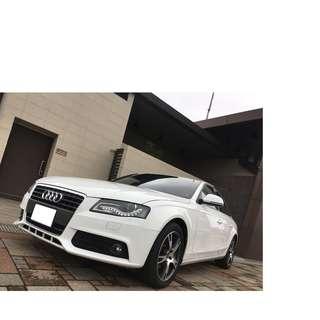 奧迪A4轎車2.0專屬全額貸增貸