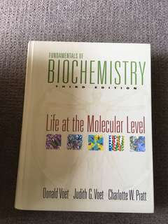 Fundamental of Biochemistry- Life at the Molecular Level