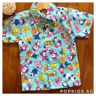 🐧INSTOCK - Pororo Boy Shirt 🐧