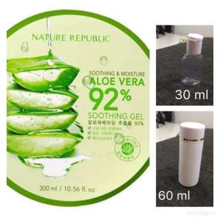 nature republic share in bottle 30 ml and 60 ml