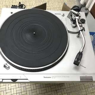 technics sl-d2 turntable 黑膠盤