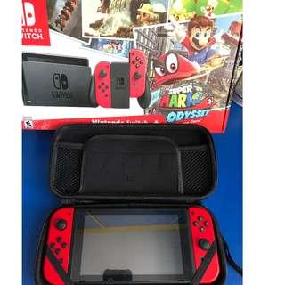 Nintendo Switch- Mario Odyssey Edition/ Games- Zelda/Fate Extella/ Mario