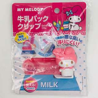 My Melody Drink Box Clip