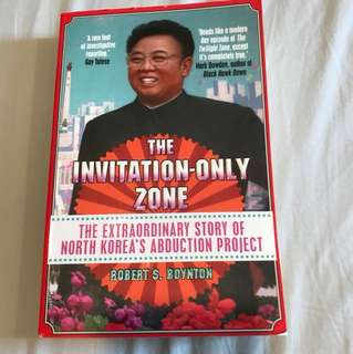 North Korea Books- the invitation only zone
