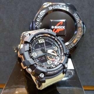 * FREE DELIVERY * Brand New 100% Authentic Casio GShock MudMaster Black & Desert Sand Strap G Shock Mens Watch G-Shock GG1000 1A5 GG1000-1A5DR