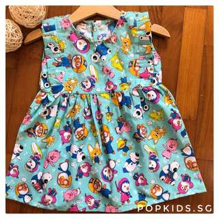 🎀INSTOCK - Cute Pororo Dress 🎀