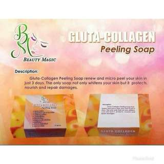 GLUTA COLLAGEN PEELING SOAP 35grams