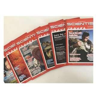 Singapore scientists magazines