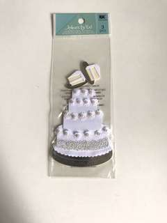 Jolee's by u - wedding cake