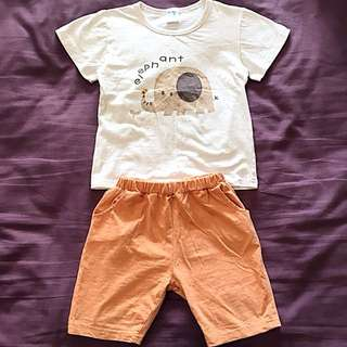 Baby Bobdog Top & Shorts | Good for 2-3 Years Old