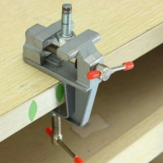 Brand new solid aluminium 3.5 inch table bench clamp vice for diy hobby
