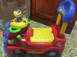 Authentic pororo push car