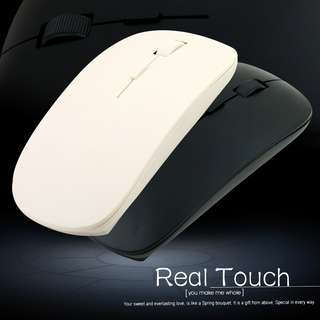 2.4G Wireless Ultra-Thin Optical Mouse for Laptop
