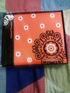Personal thought Notebook