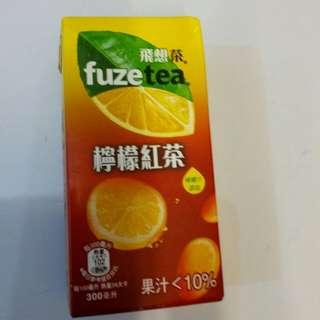 飛想茶檸檬紅茶300毫升24瓶/箱(不含運費)