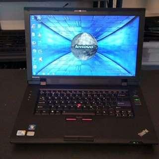 Lenovo thinkpad office type laptop