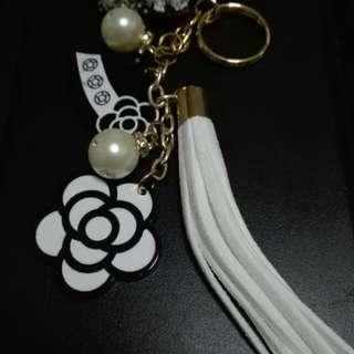 Chanel Flower Keychain