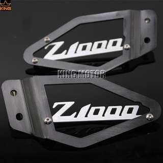 Kawasaki Z1000 foot pegs guard protection protector heel plate