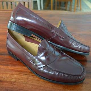 Cole Haan Penny Loafers Burgundy