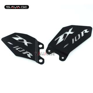 Kawasaki Zx10r ZX-10R foot pegs guard protection protector heel plate