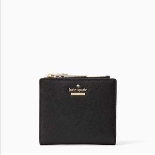 SALE Kate Spade Cameron Street Adalyn Small Wallet Black