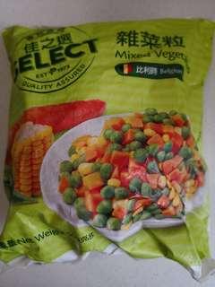 雜菜粒 青豆紅蘿蔔粟米