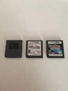NDS Games (Mario Kart, Pokémon Diamond, R4)