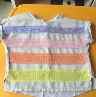 Mothercare cropped top 6-12m