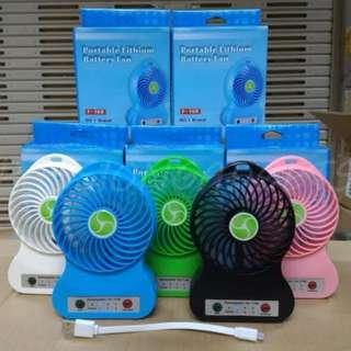 Dual Battery Mini Fan [F-168]
